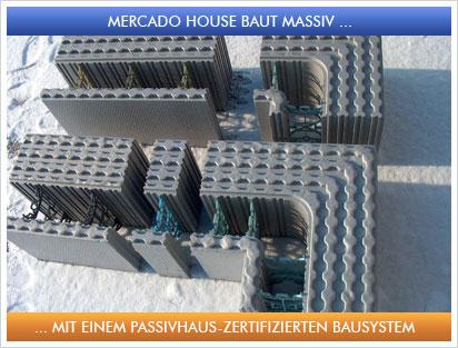 Passivhaus wandaufbau massiv  MERCADO House - Bauen mit System - Über uns